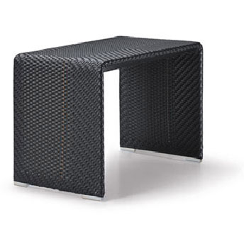Slim line side table by dedon from contemporary home for Slim side table