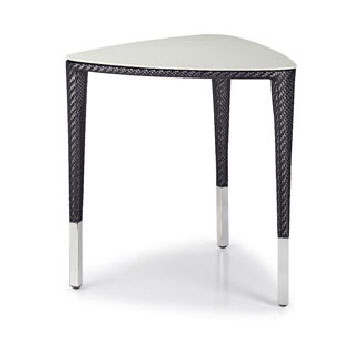 Slim Line Triangular Dining Table By Dedon From